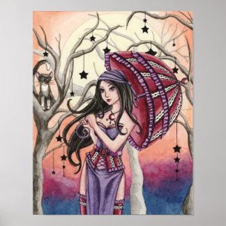Stella - poster de la bruja del bosque