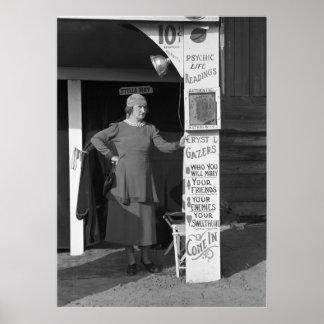 Stella puede teniendo un día lento: 1938 póster