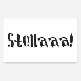 Stella Rectangular Sticker