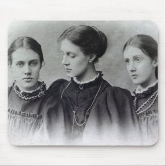 Stella, Vanessa and Virginia Stephen, c.1896 Mouse Pad