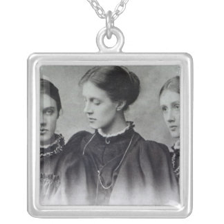 Stella, Vanessa and Virginia Stephen, c.1896 Silver Plated Necklace