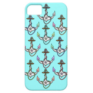 Stella Vintage retro sailor girly nautical anchors iPhone 5 Cover
