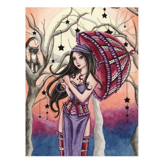 Stella - Witch Postcard