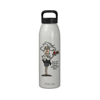 Stella With Attitude Humor Water Bottle