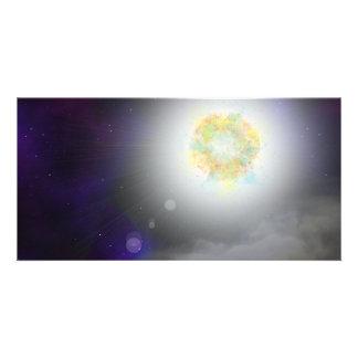 Stellar Acceleration Custom Photo Card
