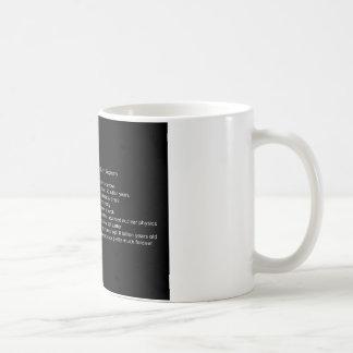 Stellar Actuary Coffee Mug