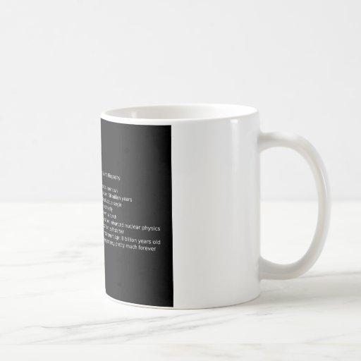 Stellar Actuary Coffee Mugs