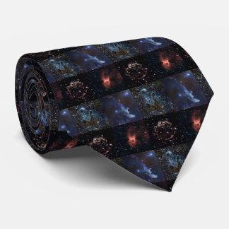 Stellar Artistry In Deep Space Tie
