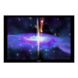 Stellar Black Hole Print
