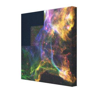 Stellar Blast Wave Canvas Print