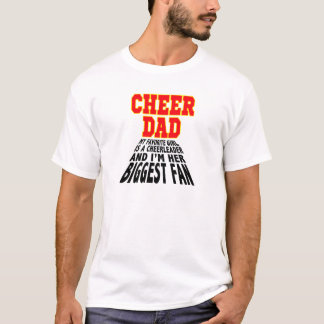 Stellar Cheer Dad Daughter Pride - T-Shirt