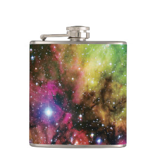 Stellar Cluster NGC 2467 Hip Flask