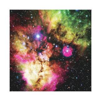 Stellar Cluster NGC 2467 - NASA Hubble Space Photo Canvas Print