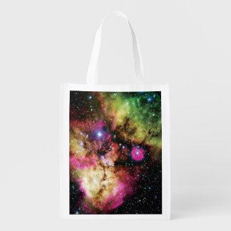 Stellar Cluster NGC 2467 Reusable Grocery Bag