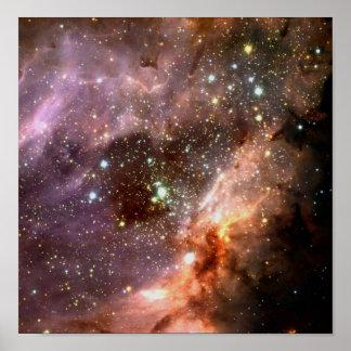 Stellar Cluster Poster