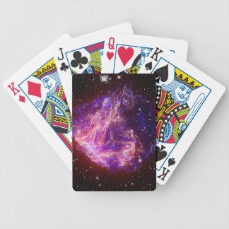 Stellar Debris in the Large Magellanic Cloud Deck Of Cards