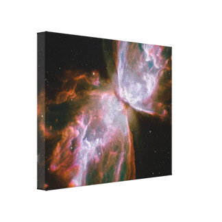Stellar Demise in Nebula NGC 6302 Canvas Print