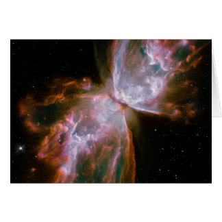 Stellar Demise in Nebula NGC 6302 Card