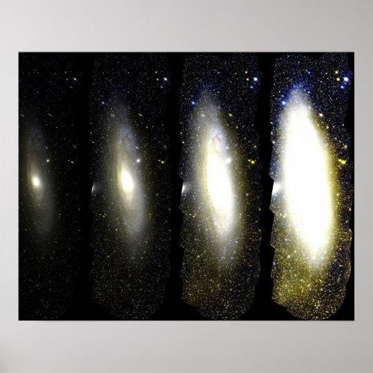 Stellar Discs of Andromeda Print