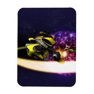 Stellar Drift Rectangular Photo Magnet
