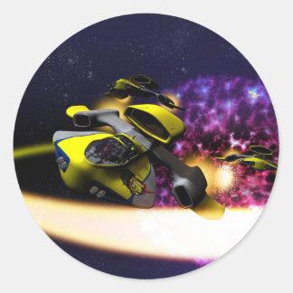 Stellar Drift Sticker
