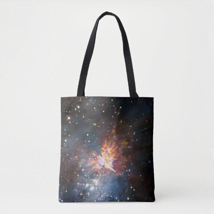 Drawstring Backpack Space Comet Universe Shoulder Bags