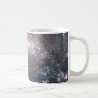 Stellar Fireworks Are Ablaze in Galaxy NGC 4449 Coffee Mug