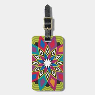 Stellar Flower Luggage Tag