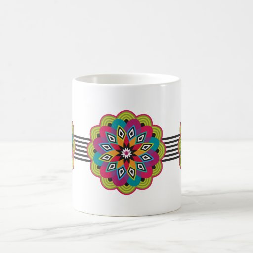Stellar Flower Mug