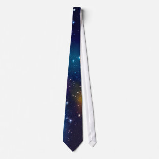 Stellar Galaxy Print Neck Tie