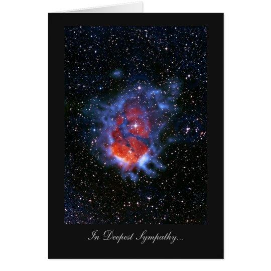 Stellar Nurseries RCW120 - In Deepest Sympathy Card