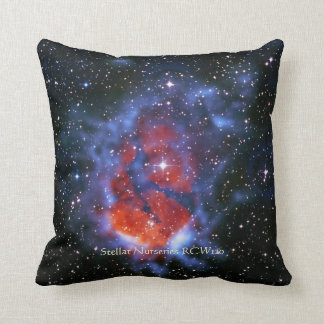 Stellar Nurseries RCW120 outer space picture Throw Pillow