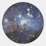 Stellar Nursery Classic Round Sticker