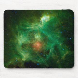 Stellar Nursery in Green Mousepad