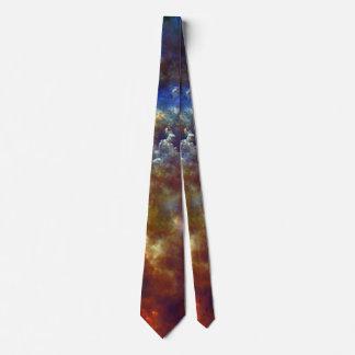Stellar nursery in Rosette Nebula Neck Tie