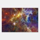 Stellar nursery in Unicorn Constellation Yard Signs