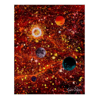 STELLAR NURSERY (large) (outer space art) ~ Poster