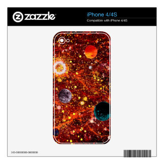 Stellar Nursery (outer space theme) ~ Skins For The iPhone 4S