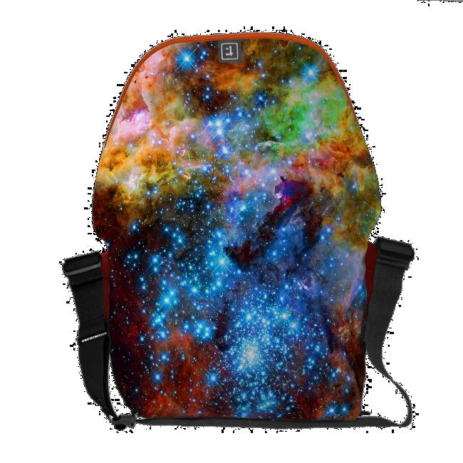 Stellar Nursery R136 in the Tarantula Nebula Messenger Bags