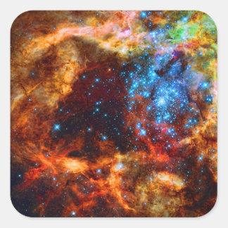 Stellar Nursery R136 in the Tarantula Nebula Stickers