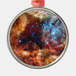Stellar Nursery R136 Metal Ornament