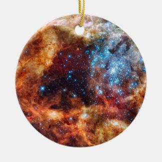 Stellar Nursery R136 Christmas Ornament