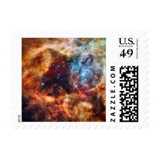 Stellar Nursery R136 Tarantula Nebula NASA Photo Postage