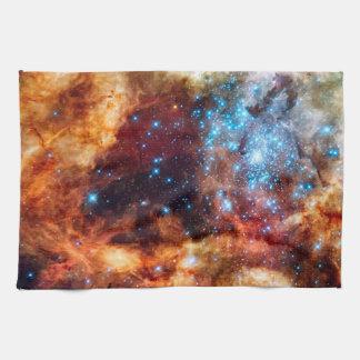 Stellar Nursery R136 Tarantula Nebula NASA Photo Towel