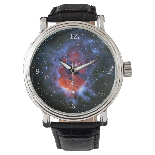 Stellar Nursery RCW120 - outer space picture Wristwatch
