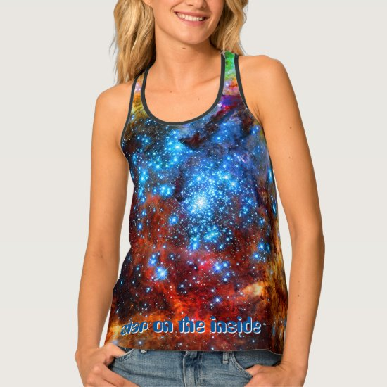 Stellar Nursery - Star On The Inside Tank Top