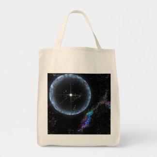Stellar Quakes Tote Bags