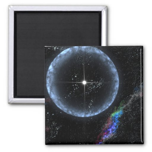 Stellar Quakes Refrigerator Magnets
