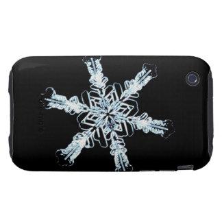 Stellar snow crystal iPhone 3 tough case