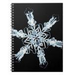Stellar snow crystal notebook